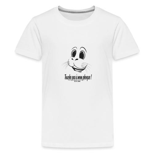 Touche pas à mon phoque de Baie de Somme - T-shirt Premium Ado