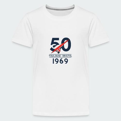 Concorde 50th Anniversary - Teenage Premium T-Shirt