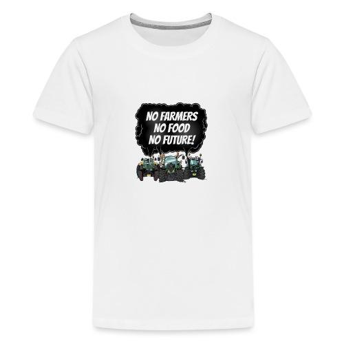 food tshirt F - Teenager Premium T-shirt