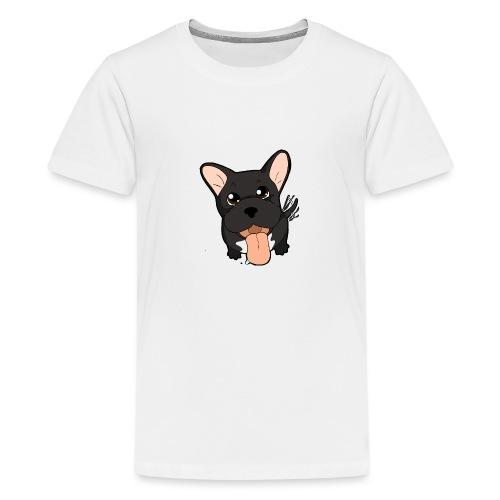 Bouledogue Francese nero - Maglietta Premium per ragazzi