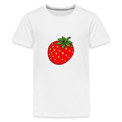 Erdbeere - Teenager Premium T-Shirt