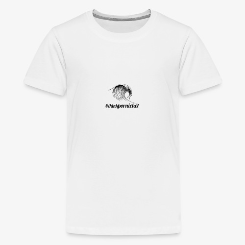 Vague Wave Thinkpornichet by DesignTouch - T-shirt Premium Ado