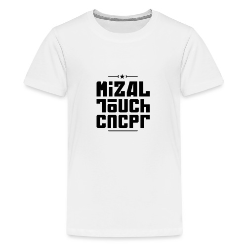 Logo MiZAL Touch Concept - T-shirt Premium Ado