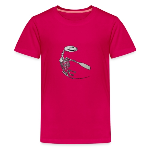 Skeleton Quentin - Teenage Premium T-Shirt