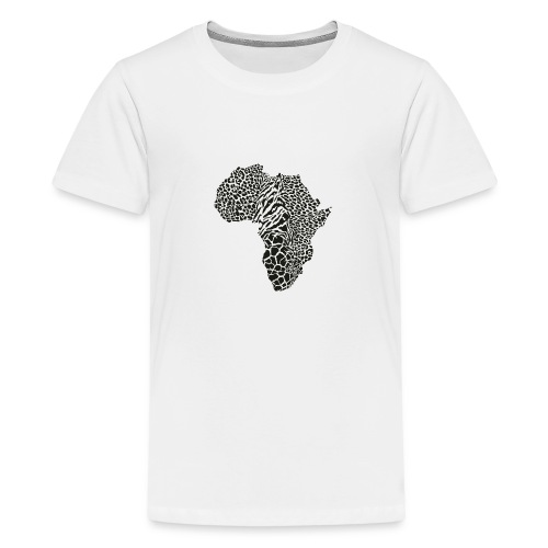 Africa in a animal camouflage - Teenager Premium T-Shirt