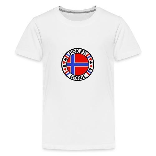 PoKeR NoRGe - Teenage Premium T-Shirt