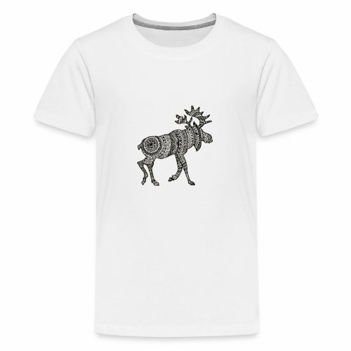 Ethno - Moose - Teenager Premium T-Shirt