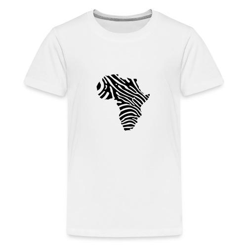 Afryka zebra - Teenage Premium T-Shirt