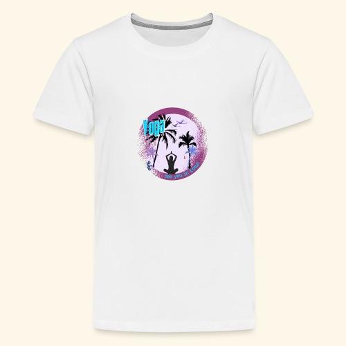 Yoga see you in Lotus - Teenager Premium T-Shirt