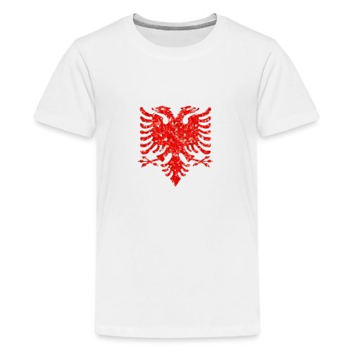 Ruby Double Headed Eagle png - Teenager Premium T-Shirt