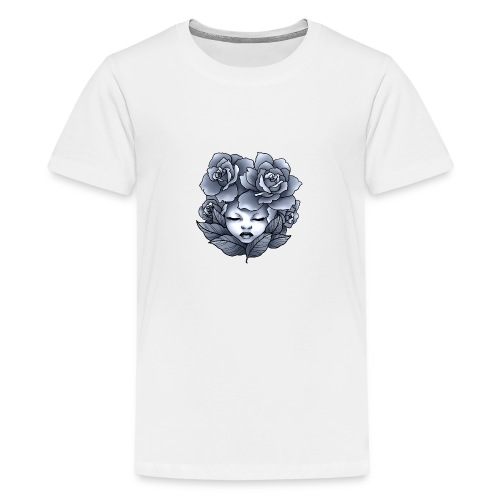Flower Head - T-shirt Premium Ado