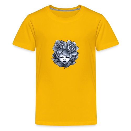 Flower Head - T-shirt Premium Ado