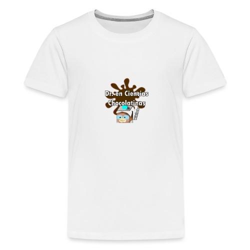 Doc. en Ciencias Chocolatinas - Camiseta premium adolescente