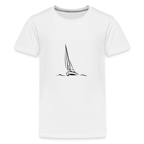 Segelboot - Teenager Premium T-Shirt