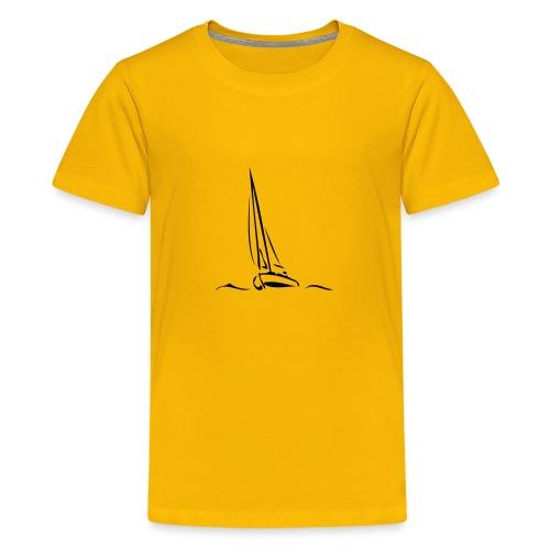 Segelboot - Teenager Premium T-Shirt