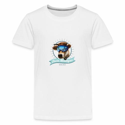 La vache masquée - T-shirt Premium Ado