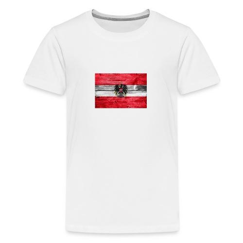 Austria Holz - Teenager Premium T-Shirt