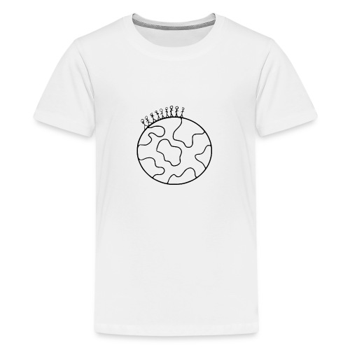 On Top Of The World - Teenage Premium T-Shirt