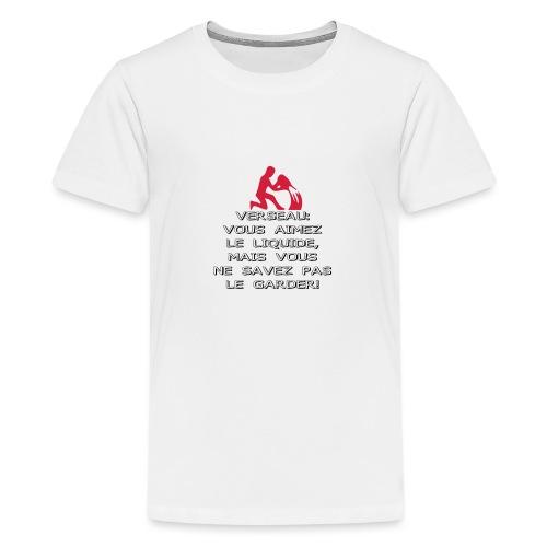 ASTRO VERSEAU - T-shirt Premium Ado