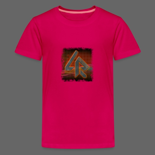 LPR Gaming BG Splash (Women) - Teenage Premium T-Shirt