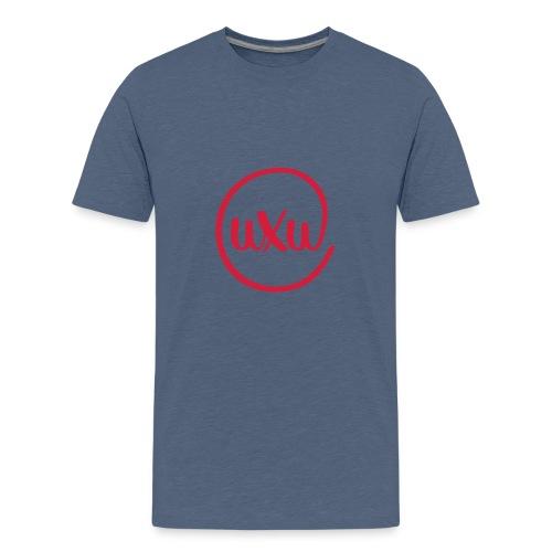 UXU logo round - Teenage Premium T-Shirt