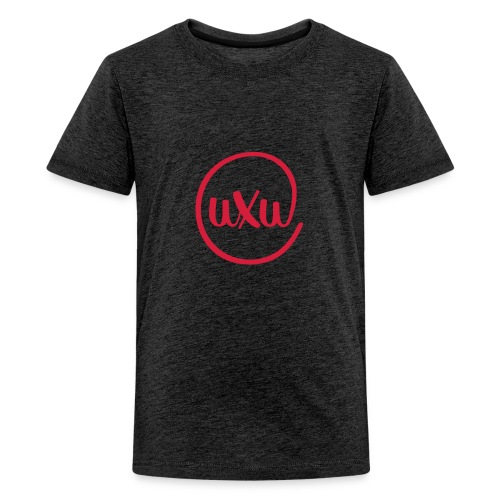UXU logo round - Teenage Premium T-Shirt