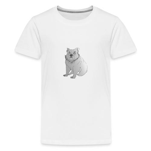 BRITISH BULLDOG CHARITY (NON PROFIT) - Teenage Premium T-Shirt