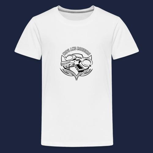 raglan CxR tee with large back logo - Teenage Premium T-Shirt