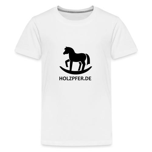 Holzpferde - Teenager Premium T-Shirt
