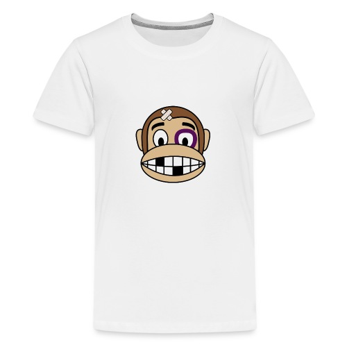 Bruised Monkey - Teenage Premium T-Shirt