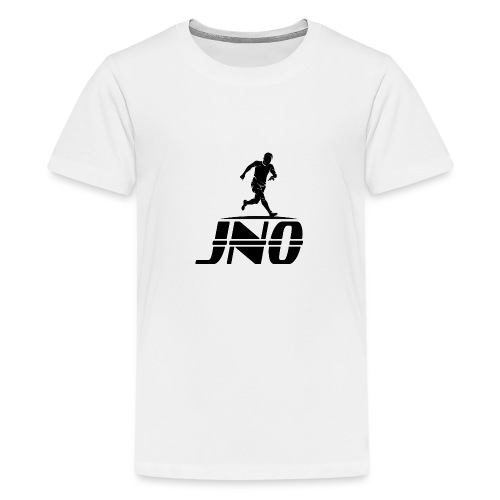 JNO Logo Black - Teenage Premium T-Shirt
