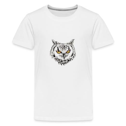 Nachteule - Teenager Premium T-Shirt