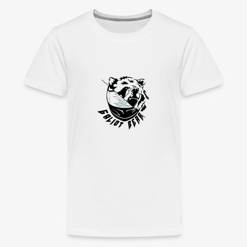 Galiot Bear Logo schwarz - Teenager Premium T-Shirt