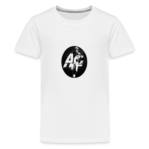 AGNITIO ROUND LOGO - Teenage Premium T-Shirt