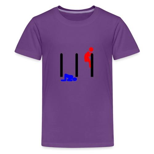 Mann und Frau - Teenager Premium T-Shirt