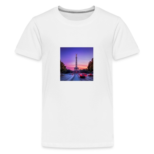 Berlin Siegessäule - Teenager Premium T-Shirt