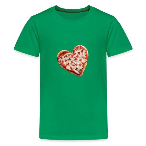 Pizza a cuore - Maglietta Premium per ragazzi