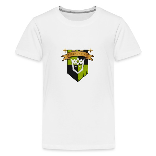 Delta_o_Tech-Banner - Teenage Premium T-Shirt