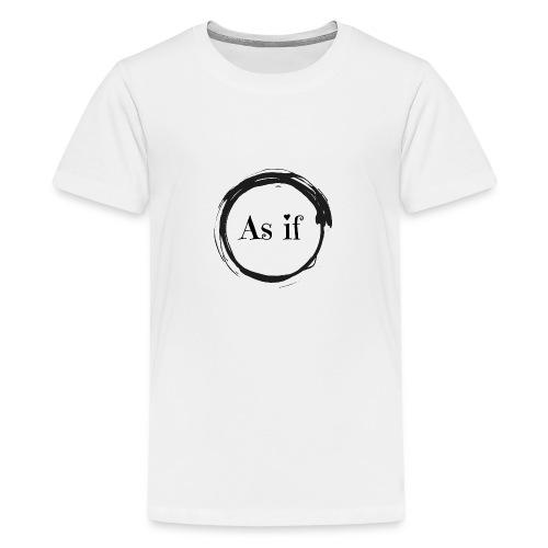 400dpiLogoCropped - Teenager Premium T-Shirt