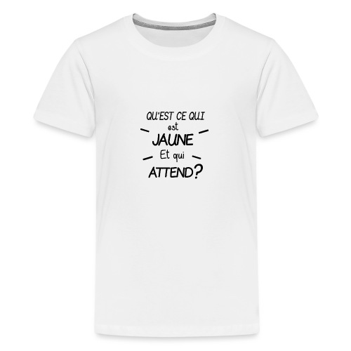 Edition Limitée Jonathan - T-shirt Premium Ado