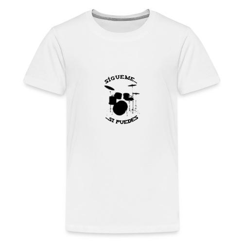 Sigue al batería - Camiseta premium adolescente