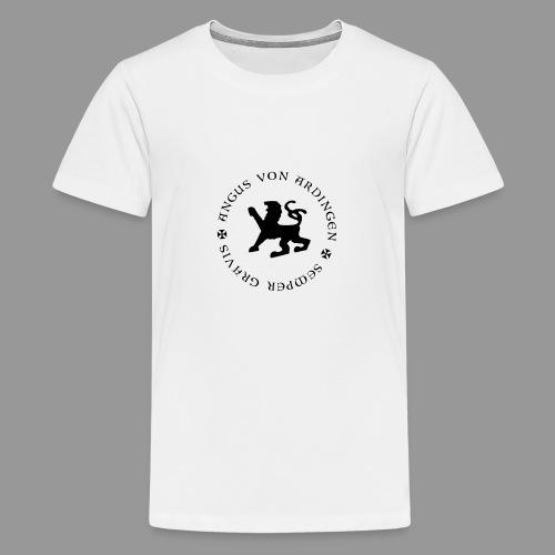 angus von ardingen semper gravis - Teenager Premium T-Shirt
