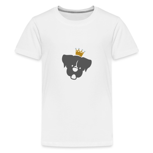 Prinz Poldi grau - Teenager Premium T-Shirt