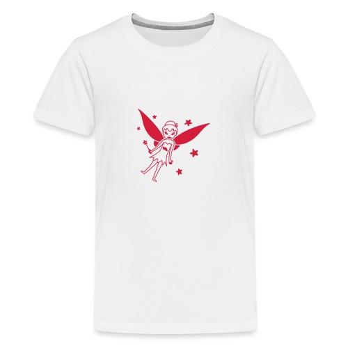 Motif Fée - T-shirt Premium Ado