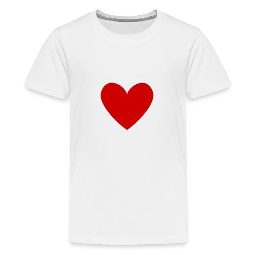 hart_normal_d - Teenager Premium T-shirt