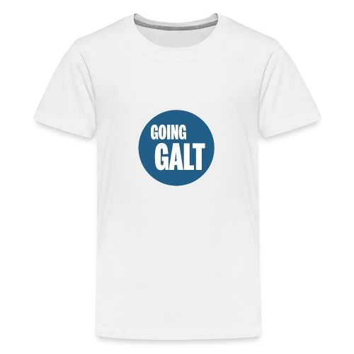 GoingGaltButton png - Teenager Premium T-Shirt