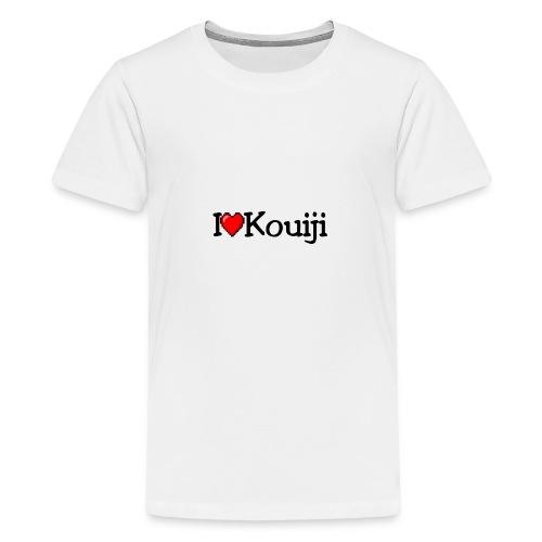 iherzkouiji png - Teenager Premium T-Shirt