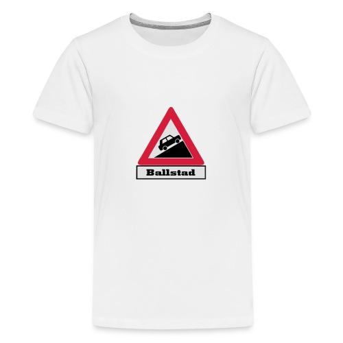 brattv ballstad a png - Premium T-skjorte for tenåringer