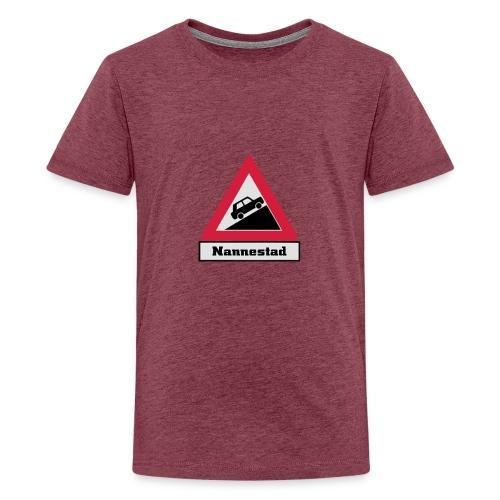 brattv nannestad a png - Premium T-skjorte for tenåringer