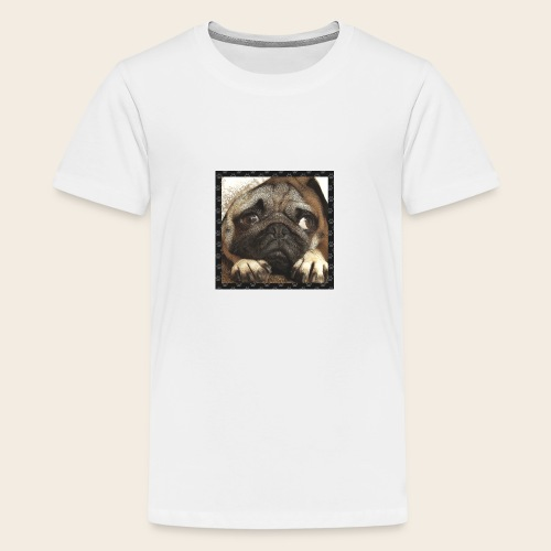 Mops Hund 1 - Teenager Premium T-Shirt